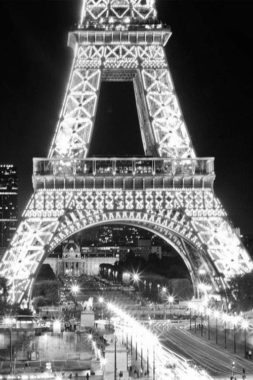 Paris, France- Eiffel Tower, go to the top, have a picnic and watch it light up.