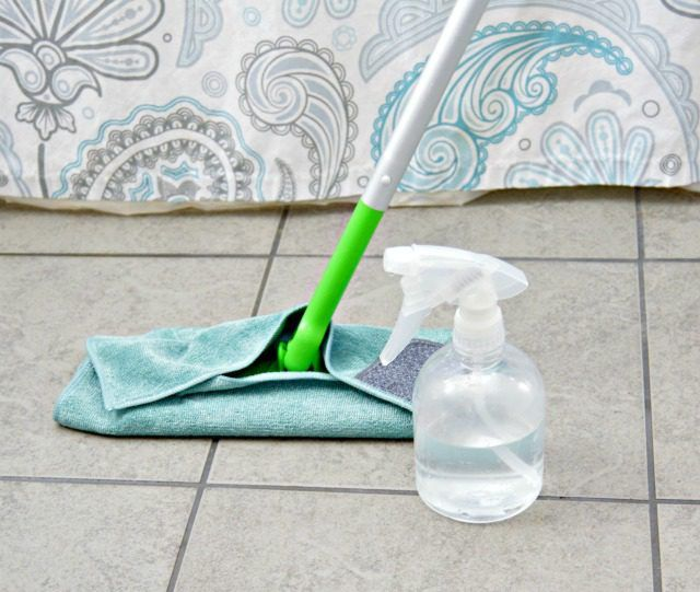 How To Clean Tile Floors With Baking Soda