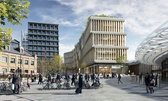 Google submits plans for 'landscraper' London headquarters | Technology | The Guardian