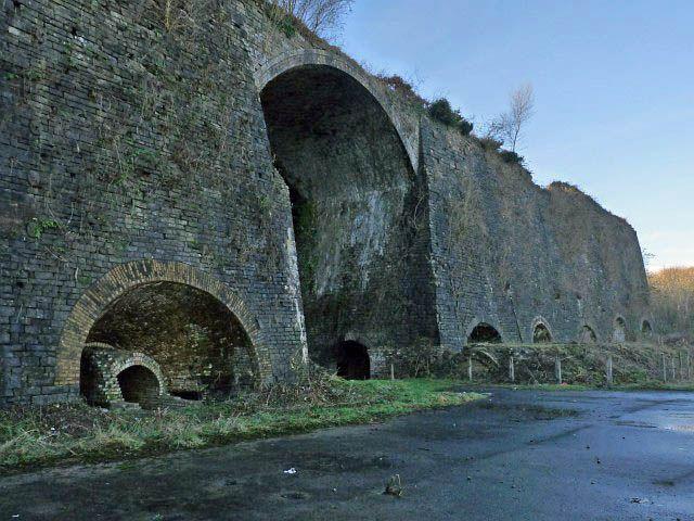 Cyfarthfa Ironworks, Merthyr Tydfil, Wales