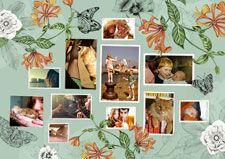 Customizable Photo Collage by la Scarlatte