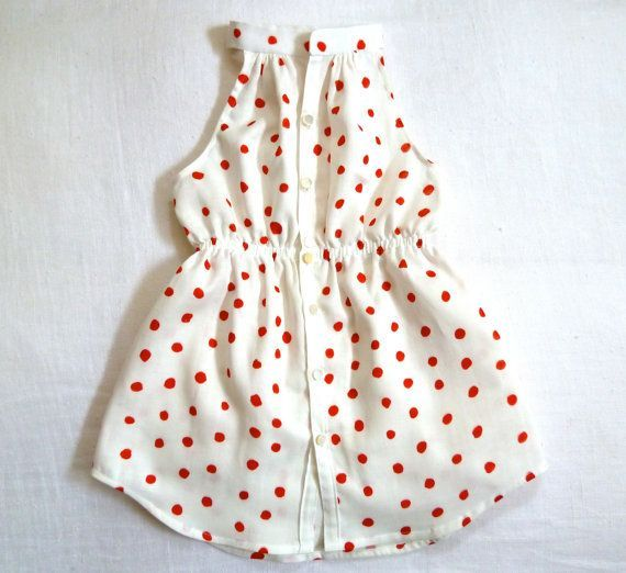 Nani Iro Sleeveless Shirtdress by Harriet & Daughters on etsy