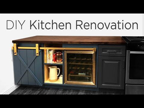 Custom Kitchen Cabinet Extension Project For 700 Diy