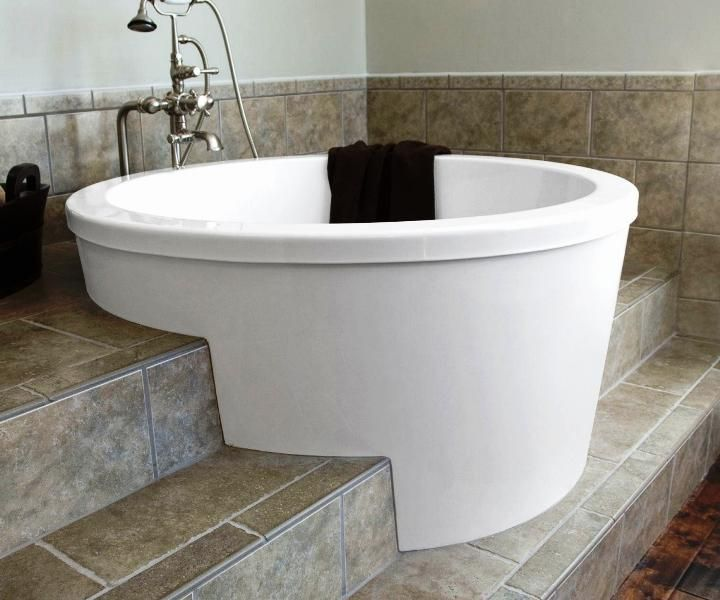 Large Sized 2 Person Soaking Tub Freestanding : Bathtub   Ideas