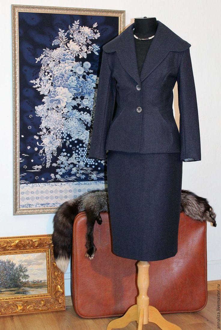"""Купить Женский деловой костюм в ретро стиле """"Lady BOSS 2"""" - ретро стиль"""