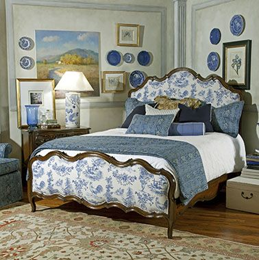 Highland House Furniture    Marigny Leather Queen Bed French Country  Marigny Leather Queen Bed W  65 in D  86 in H  62 in 136 lb   34 cft  Cartons  2 Wood. 855 best images about Beautiful French Country    on Pinterest