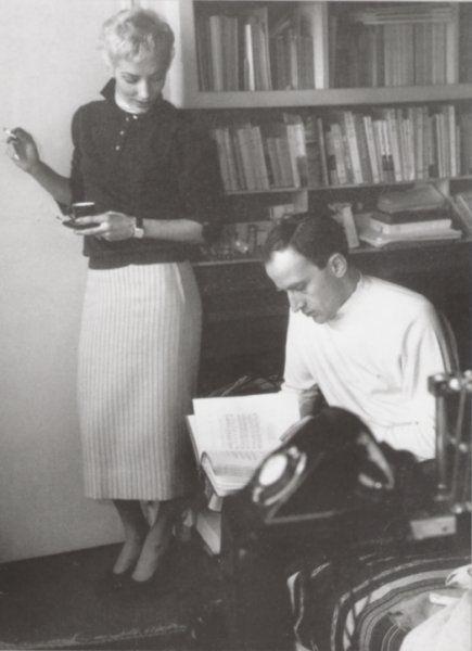 Ursula et Boris à la Cité Véron en 1957