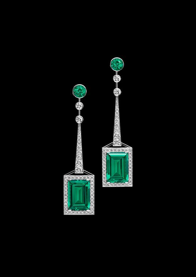 Atelier Swarovski Fine Jewellery collection Mosaic earrings | Art ...