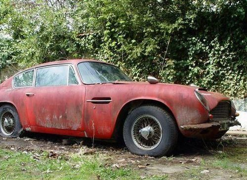 Barn Find Aston Martin