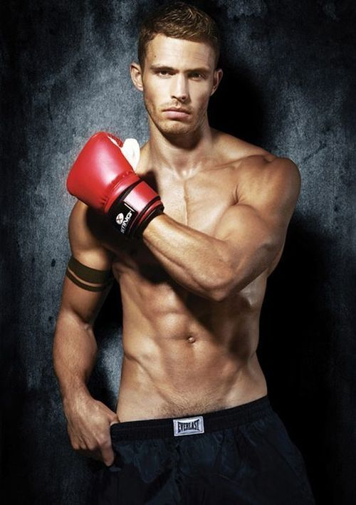 gay professional male boxer