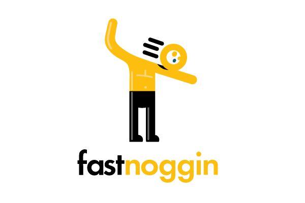Fast Noggin Logo : 1 - Logos : Pinterest