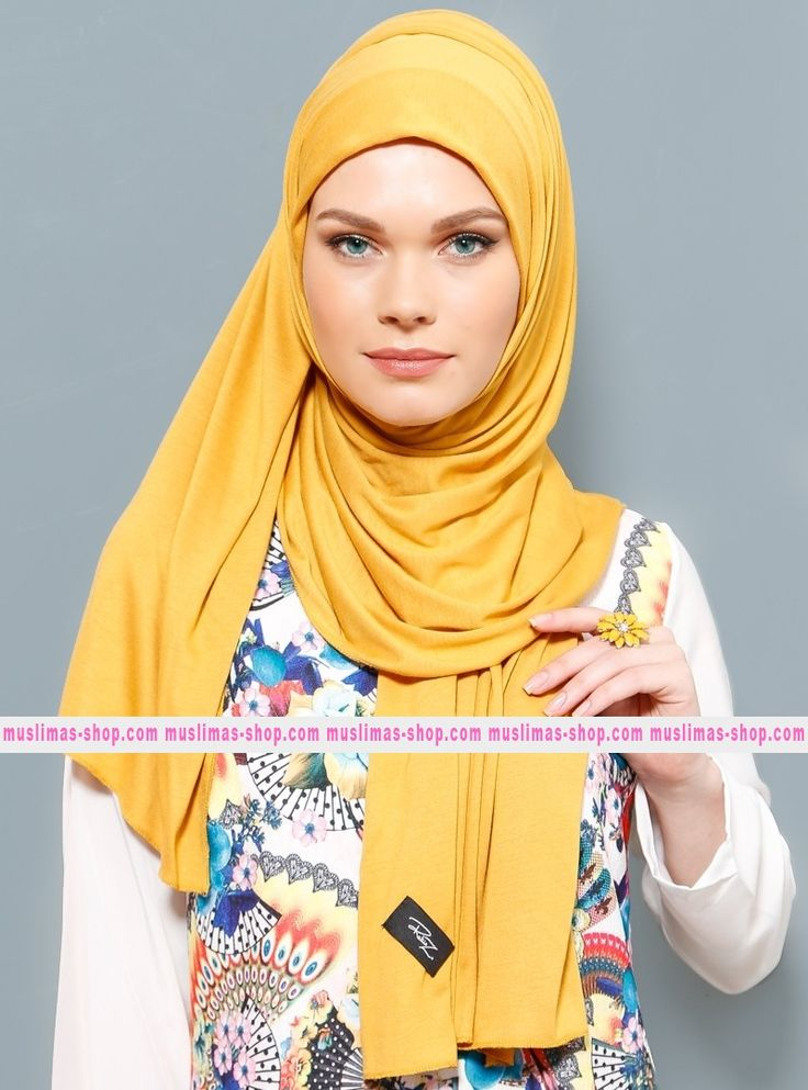 Abbigliameto Halal Islamico Negozio Online  #islamic #hijab #modest #fashion product  Jersey Combed Cotton Scarf - Mustard - Rabia Z - Fabric Info:  100% Combed Cotton    Weight: 0.226 kg  Sizes:  Width: 75 cm  Height: 200 cm - SKU: 200478. Buy now at http://muslimas-shop.com/jersey-combed-cotton-scarf-mustard-rabia-z200478.html