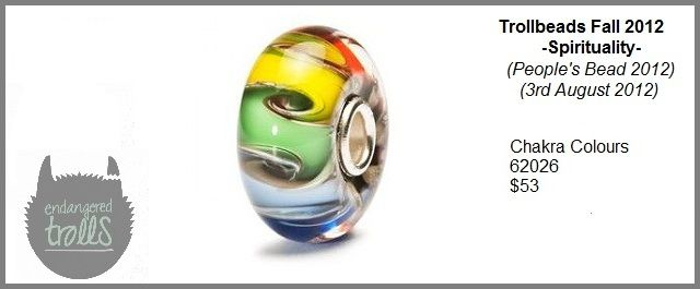 Trollbeads Fall 2012 Spirituality Collection - Chakra Colours
