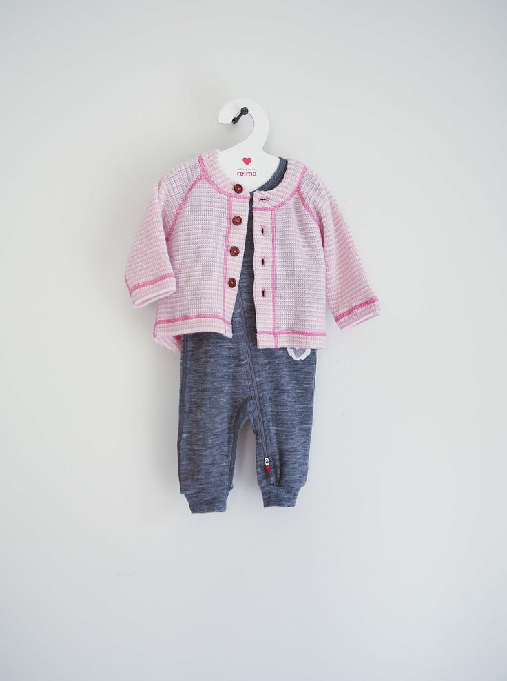 Woolen overall KASVU Cardigan TOIVE #reima #AW15 #newborn
