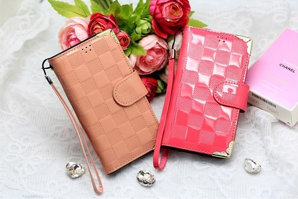 Lumiel Vere Square Diary Wallet Case for LG F70