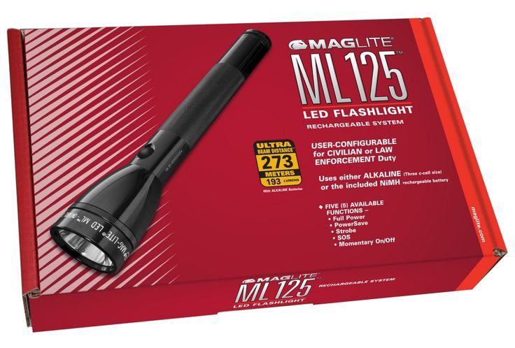 Latarka MAGLITE LED ML125 policyjna wojskowa taktyczna akumulatorowa ładowalna ,