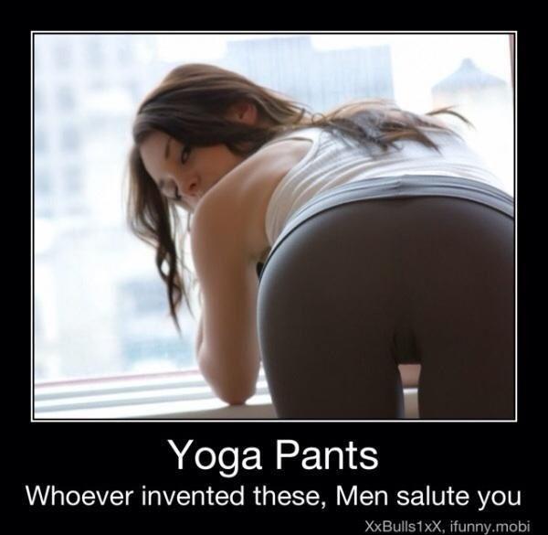 Men Salute You, Inventor Of Yoga Pants