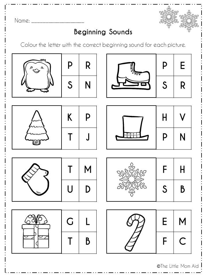 Winter Literacy Activities And Worksheets Morning Work Winter Literacy Activities Literacy Activities Literacy