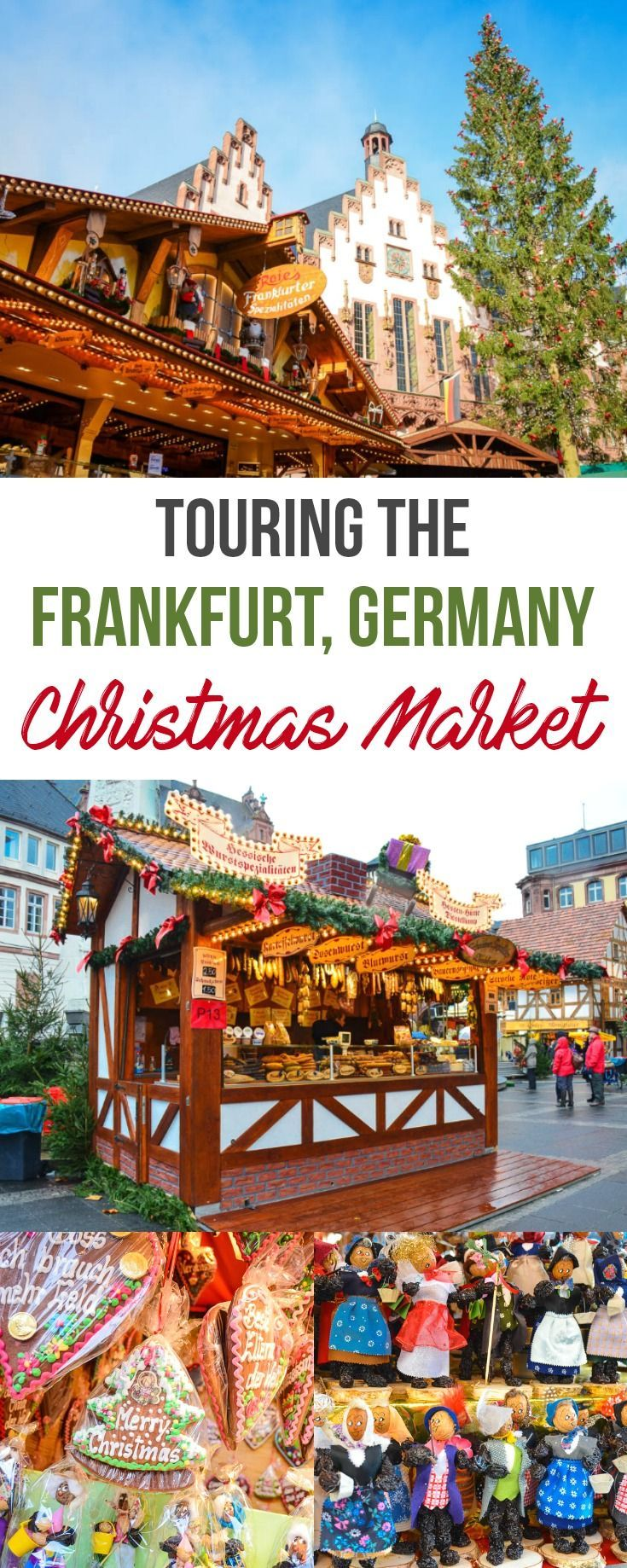 Touring the Frankfurt Christmas Market in Germany