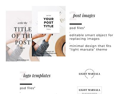 """Check out new work on my @Behance portfolio: """"Light Marsala Blog Graphics Package"""" http://be.net/gallery/60816551/Light-Marsala-Blog-Graphics-Package"""