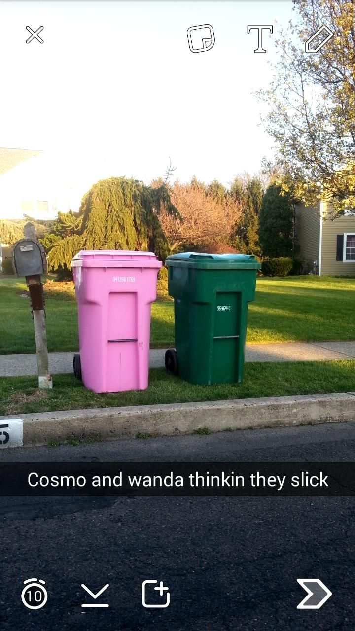 Can't fool me cosmo and wanda