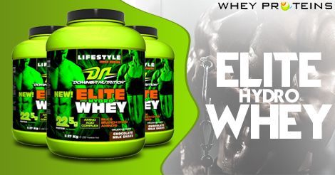 Domin8r Nutrition Elite Hydro Whey is a best Muscle Gainer Supplement with the source of Whey Protein.