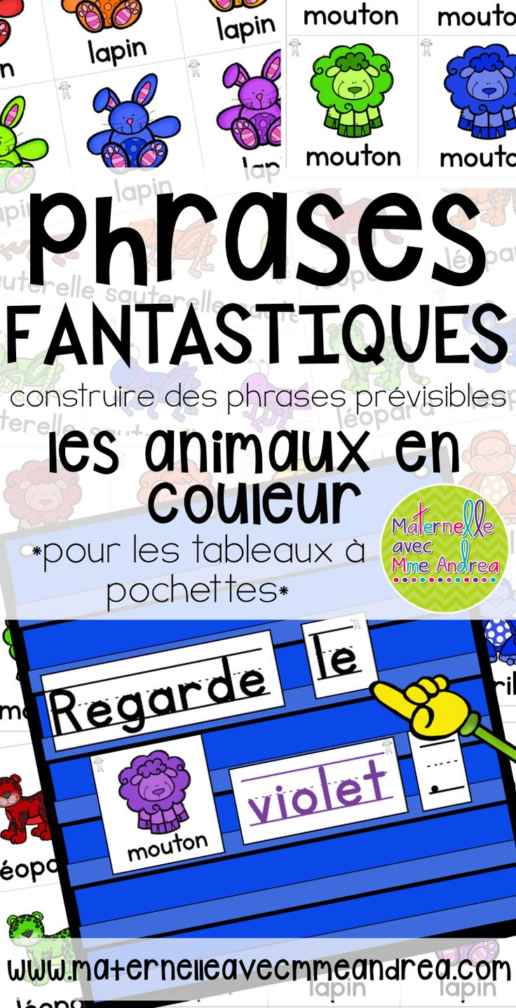 best ideas about phrases in french french french predictable sentences phrases fantastiques creacuteer les phrases preacutevisibles avec vos eacutelegraveves tableau