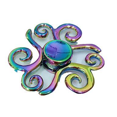 Hand+Spinner+Leksaker+Leksaker+Metall+EDC+Stress+och+ångest+Relief+Originella+och+skämtleksaker+–+SEK+Kr.+778