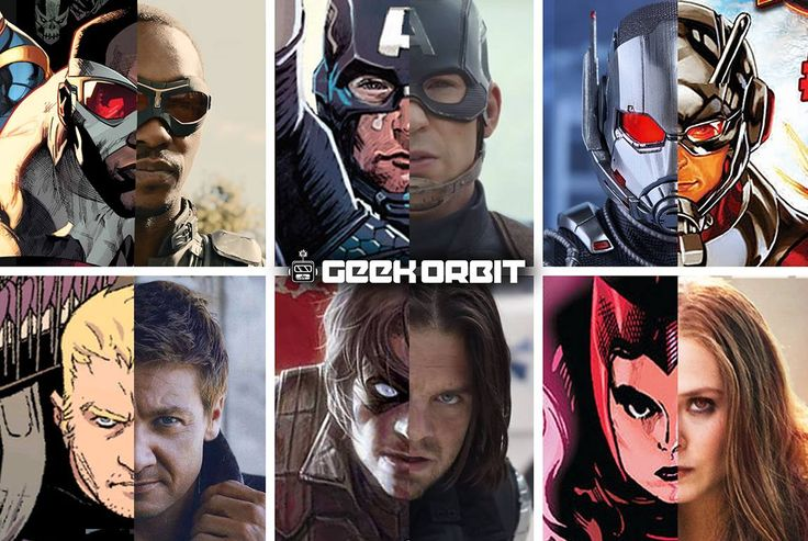 Comic to Screen<---Am I the only one who thinks it's just perfection how much Comic Bucky & Sebastian look alike?