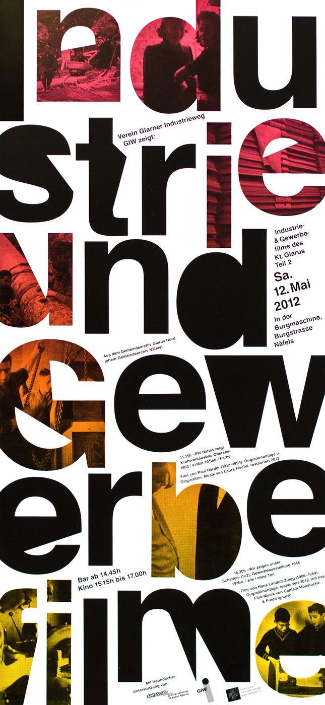 3 color poster designs - 3 Color Run Letterpress Poster By Dafi K Hne