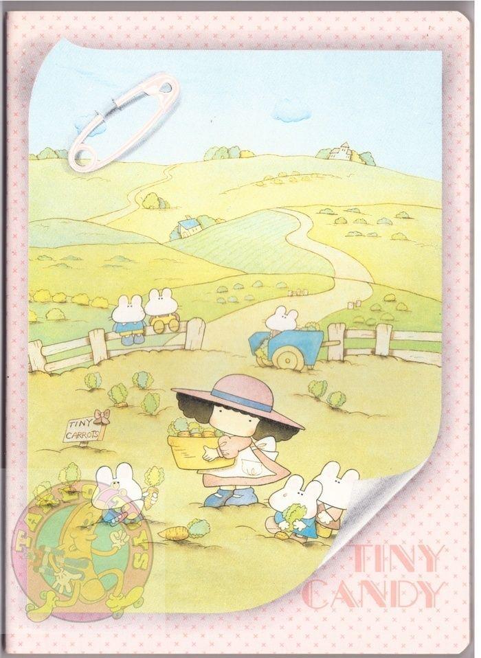 TINY CANDY 80s Gakken Mondadori italy notebook school - quaderno scuola 015