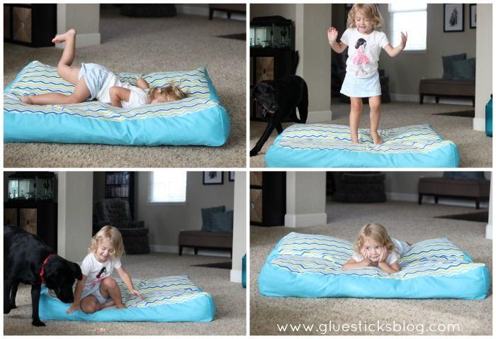Oversized Floor Pillow Tutorial