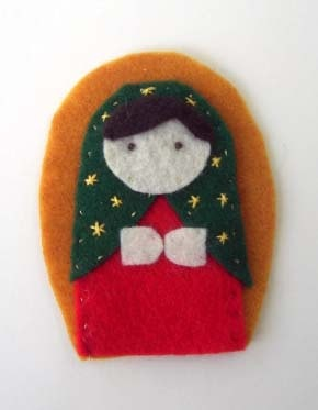 Our Lady of Guadalupe Finger Puppet