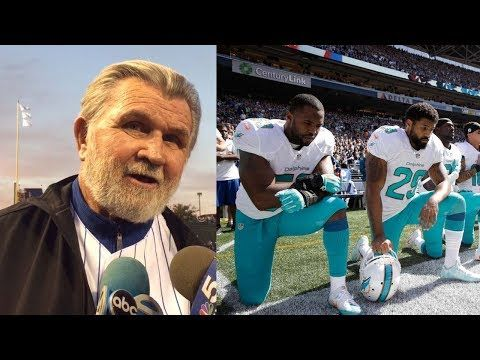 Mike Ditka WARNS Players About Kneeling During National Anthem During 9/11 Game - YouTube