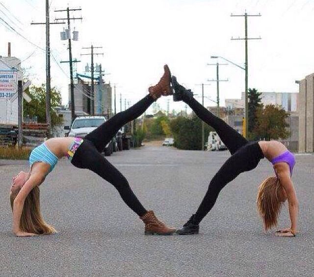 58 best images about 2 person yoga poses on Pinterest ...