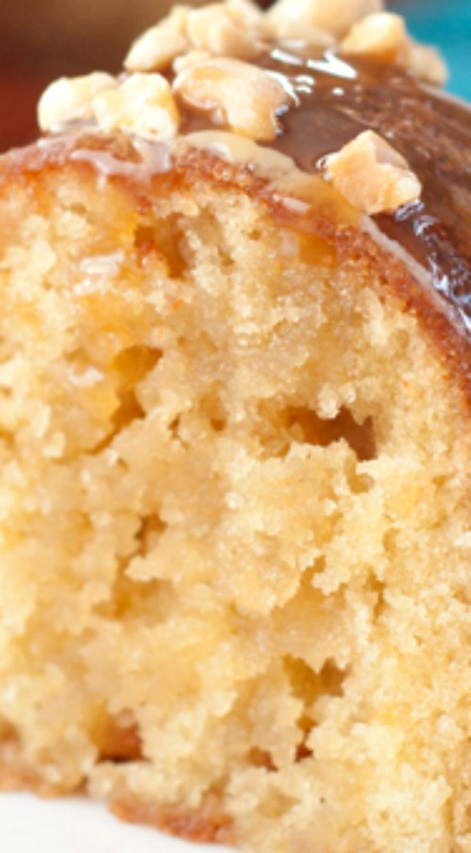 Salted Caramel Kentucky Butter Cake