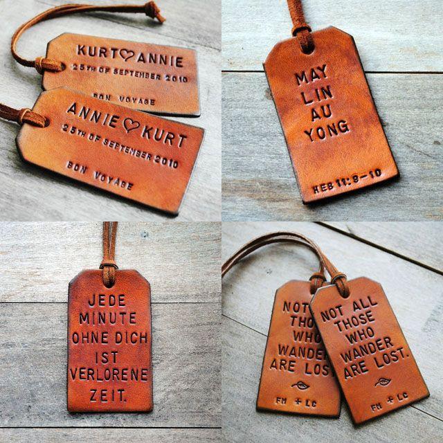 Best 10  Cute luggage tags ideas on Pinterest | Useful wedding ...