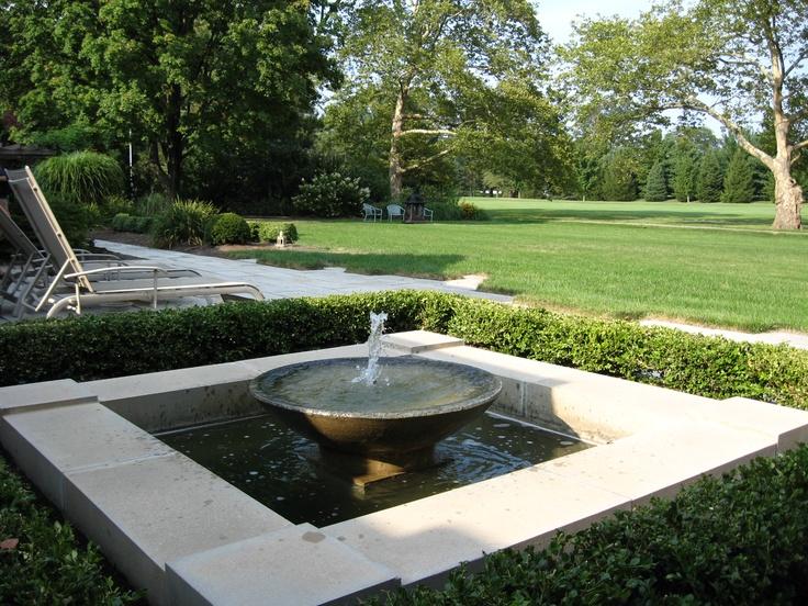 Contemporary fountain