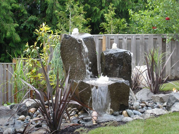 Best 10 Rock Fountain Ideas On Pinterest