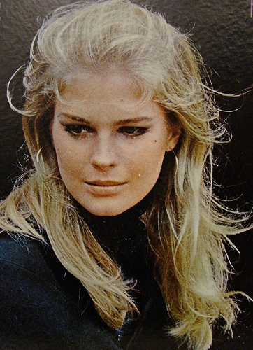 Candice Bergen..stunning,  Black turtleneck...always appropriate