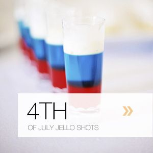 Jello shots, Fourth of July and Jello on Pinterest