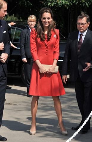 Kate Middleton: Duchess Of Cambridge, Catherine Walker, The Duchess, Catherine Middleton, 2011 July, Style Icons, Kate Middleton, The Dresses, Red Coats