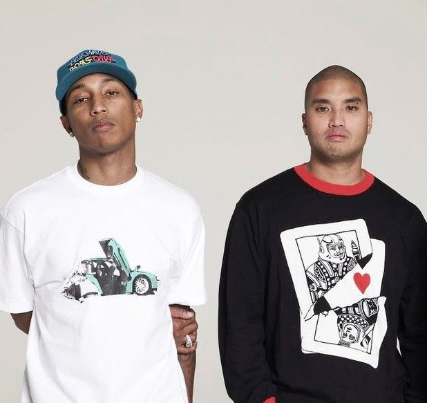 The Neptunes(Pharrell Williams and Chad Hugo)