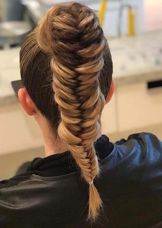 Zopffrisuren für die Schule Sommer #goddessbraids #Braid #goddessbraids #Hairstyles #School