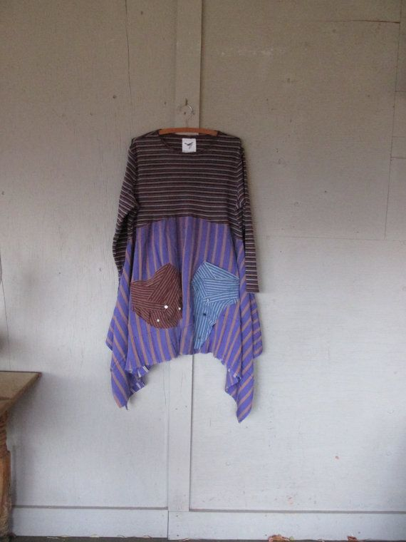 upcycled dress Artsy clothing repurposed by lillienoradrygoods