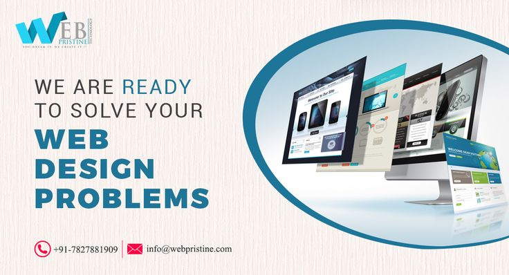 We are ready to solve your #web_design problems...