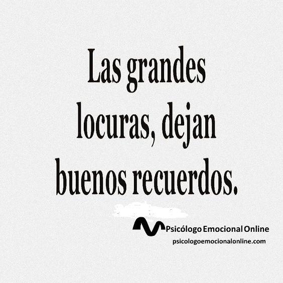 De vez en cuando...¡déjate llevar!  #locura #DejateLlevar #recuerdos #BuenosRecuerdos