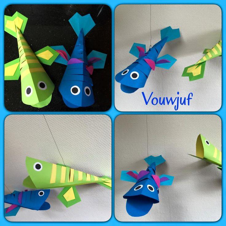 Vissen 3D - vliegers