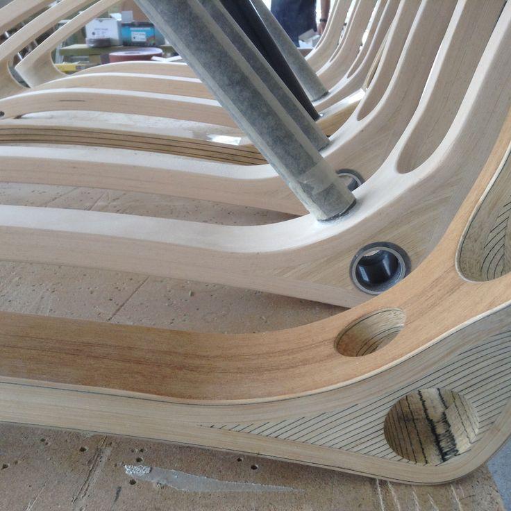 Different bike's frame wood: Beech wood - Teakwood