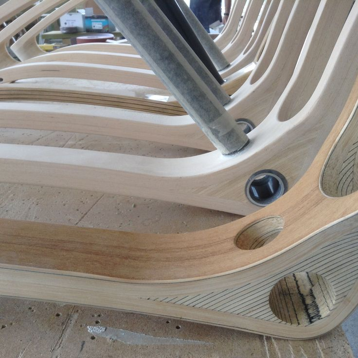 Different bike's frame wood: Beech wood - Teakwood